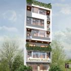 Cho thuê tòa căn hộ 14pn phố đi bộ An Thượng có mặt bằng trệt+lửng ngang 8m
