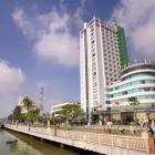 Cho thuê mặt tiền các tòa nhà lớn trong trung tâm thành phố. LH Bđs Mizuland 0918958310