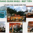 Cần sang ngay quán nhậu mặt tiền Lê Đức Thọ, quận Sơn Trà