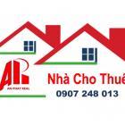 Cho thuê nhà 3 tầng mới mặt tiền đường Lương Nhữ Hộc. Giá 18tr/th. LH 0907 248 013