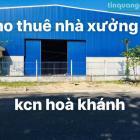 Cho thuê đất và nhà xưởng kcn Hoà Khánh & Hoà Khánh mở rộng