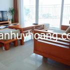 Cho thuê căn hộ cao cấp Azura 2 phòng ngủ đẹp, diện tích 95.6m2, giá 28 triệu/th