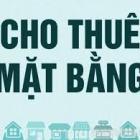 Cho thuê mặt bằng kinh doanh 2 mặt tiền Trung tâm Thương Mại đường Lê Duẩn, diện tích: 200m2
