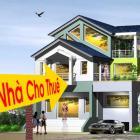Cho thuê nhà 3 tầng đường Ung Văn Khiêm dt: 5x20m, 3PN, 20 triệu
