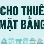 Cho thuê mặt bằng góc đường Trần Nguyên Đán, DT 338m2, giá 15 triệu