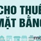 Cho thuê mặt bằng kinh doanh đường Hoàng Hoa Thám - Thanh Khê - Đà Nẵng