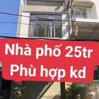 Cho thuê nhà 2T gần Lê Đình Dương,Hải Châu,Đà Nẵng đất 90 m2,làm VP,KD đồ ăn,trà sữa,Shop đều đẹp.0983.750.220