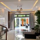 Cho thuê nhà đẹp khu Nam Việt Á 4 phòng khép kín có sân ô tô giá 25 triệu-TOÀN HUY HOÀNG