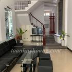 Cho thuê nhà nguyên căn 3 tầng 5 phòng ngủ full nội thất đường Phú Lộc giá 10Tr - TOÀN HUY HOÀNG