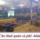 Chính chủ cho thuê quán cà phê - bida, ngay ngã tư Nguyễn Khuyến và Chơn Tâm 8, P.Hòa Khánh Nam, Q.Liên Chiểu, TP.Đà Nẵng.