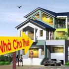 Cho thuê nhà 2 tầng mặt tiền Hoàng Thị Loan, DT 10x20m.