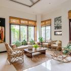 Cho thuê villa sân vườn gần biển Phạm Văn Đồng 4 phòng khép kín hiện đại-TOÀN HUY HOÀNG