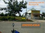 Bán lô 5x20m, đường 110B TDC Phú Chánh D8, phường Phú Tân, TP Mới Bình Dương, LH 0909954964
